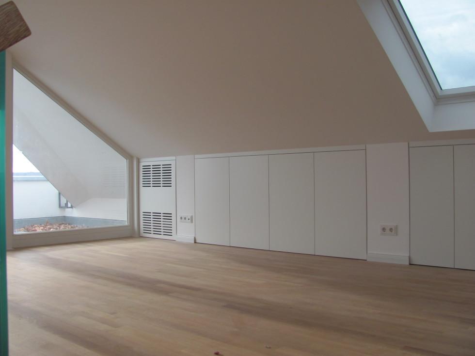 stauraum unter der dachschr ge schreinerei bund. Black Bedroom Furniture Sets. Home Design Ideas
