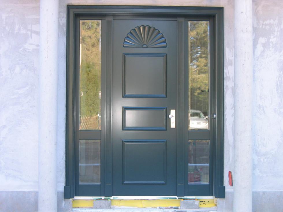 Haustüren holz weiß  Haustüren | Schreinerei Bund